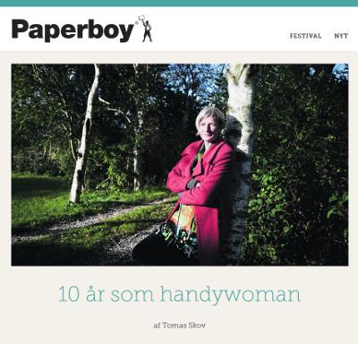 EWEB i Paperboy
