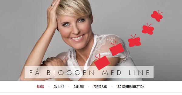 På bloggen med Line