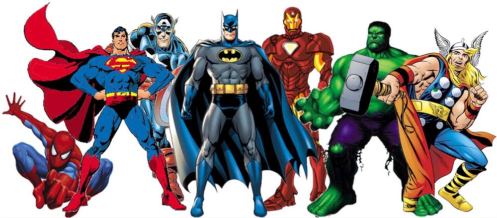 Hvem er din superhelt?