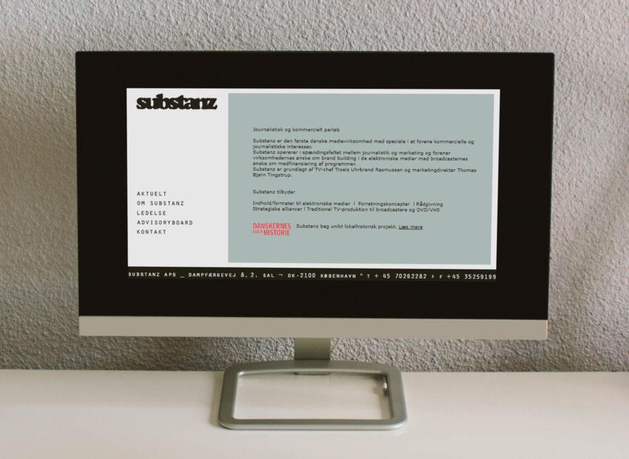 Substanz hjemmeside 2005