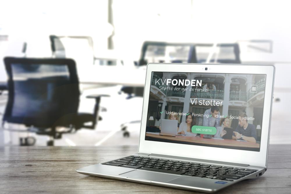 Ny hjemmeside til KV Fonden